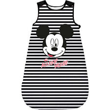 Mickey Mouse - Baby Schlafsack schwarz/weiß Jungen und Mädchen