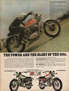 1971 BSA Firebird Scrambler 650-SS - Vintage Motorcycle Ad