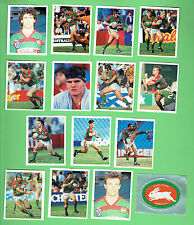 1993 SOUTH SYDNEY RABBITOHS  SELECT RUGBY LEAGUE STICKERS