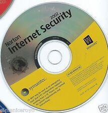 VINTAGE CD ROM SYMANTEC NORTON INTERNET SECURITY 2002 WINDOWS