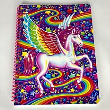 New Lisa Frank Notebook Skye Pegasus Spiral Bound Rainbow Stars Wide Ruled Horse