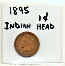 USA 1 Cent Indian Head 1895 Small Cent