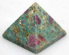 Ruby Zoisite Natural Crystal Pyramid  20 x 30 x 30 mm (Post or Local Pickup)
