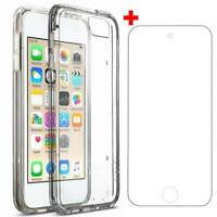 For Apple iPod Touch 7th Gen 2019 Soft Case Silicone Slim Cover+Screen Protector