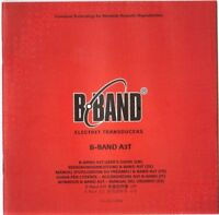 B-BAND A3T Users Guide, Good Condition