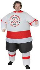 ADULT INFLATABLE HOCKEY PLAYER ILLUSION FUNNY COSTUME SS59283G