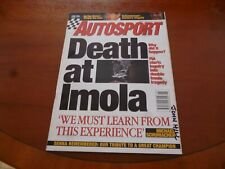 Autosport 5 Kann 1994 Ayrton Senna Hommage Tod bei Imola Tatty wie Bilder
