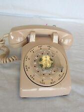 Rotary Dial Desk Phone ITT Handset Stromberg Carlson SC500 D  Working NOS #0801