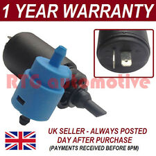FOR VAUXHALL OPEL ASTRA F 1991-98 FRONT REAR TWIN OUTLET WINDSCREEN WASHER PUMP