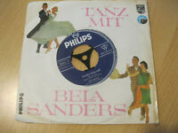 "7"" Single Tanz mit Bela Sanders Harry Lime Blues Vinyl Philips 345 388 PF"