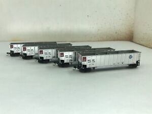 Athearn N scale Bethgon coalporter 5 car set BNSF