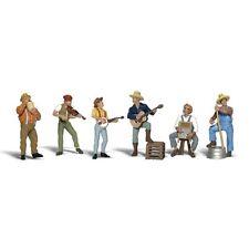 Painted Jug Band (OO/HO figures) Woodland Scenics A1902 free post