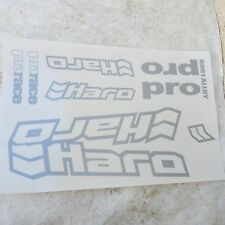 HARO DECALS PRO RACE RARE SET STICKERS RACING FREESTYLE MOUNTAIN BIKE MTB BMX