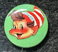 Kellogg's Rice Crispy Cereal VINTAGE Pin Button PIN BACK - Crackle- made in USA