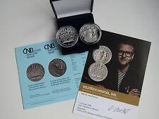 La república checa 2017 200 coronas moneda de plata coin pp proof-Josef Kainar -