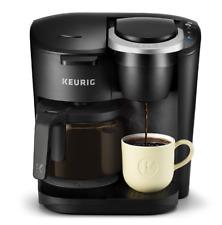 Keurig Kitchen K Duo Coffee Maker Single Serve 12 Cup Carafe Drip Brewer Black