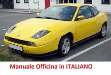 Fiat COUPE' (1994/2001) Manuale Officina ITALIANO