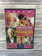 The Second Best Exotic Marigold Hotel (DVD, 2015) Judi Dench Richard Gere NEW
