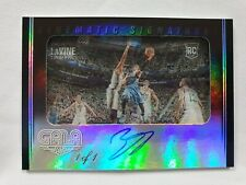 2014-15 GALA ZACH LaVINE 1/1 AUTO ROOKIE CINEMATIC SIGNATURES AUTOGRAPH E4