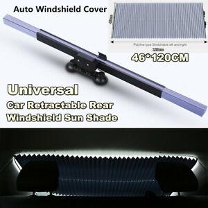 Car Retractable Foldable Rear Window Sun Shade Block Visor Auto Windshield Cover