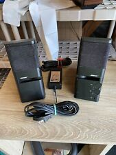Bose Media Mate Computer Speakers Sound Great **FAST SHIPPING**