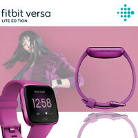 Fitbit Versa Lite Special Edition Fitness Tracker Activity Pink Band Smartwatch