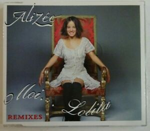 ALIZÉE : MOI ... LOLITA (MYLENE FARMER) (4 VERSIONS) ♦ MAXI-CD ♦
