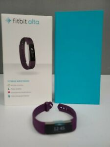 Fitbit Alta Series Fitness Tracker Wristband (FB406PMS) - Small - Plum