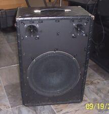 "Polytone 15"" extension speaker with 2 piezo tweeters works good, guitar bass PA"