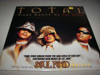 """TOTAL WHAT ABOUT US THE REMIX 12"""" Single SEALED LaFace 73008-24273-1 1997"""