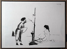 PICASSO 1954 ENGRAVING w/COA classic MUST HAVE Pablo Picasso Print VERY RARE ART
