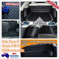 Custom Made Car Boot Cargo Mats Wheel Arches Cover Liner for 18 2019 Honda CR-V