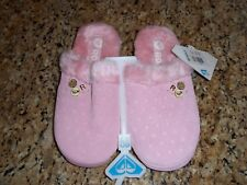 Roxy Frosty Bedroom Slippers Pink Size S  NWT