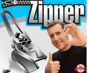 12PCS Fix A Zipper Zip Slider Rescue Instant Repair Removable Replaceme