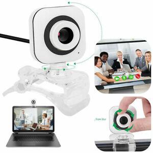 Webcam HD Kamera Laptop Desktop Office Mit Mikrofon für Videoanrufe PC USB 2.0