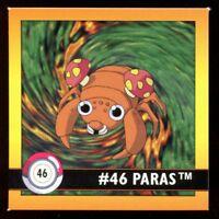 POKEMON LAMINCARDS CARTE CARD 046 PARAS