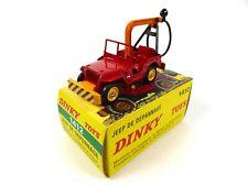 Jeep de dépannage avec crochet - 1/43 DINKY TOYS 1412 Voiture miniature MB326