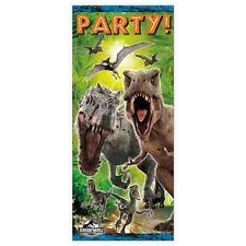 Jurassic World Dinosaurs Birthday Party Door Poster 5 ft Hanging Supplies Decor