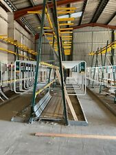 More details for vertical timber warehouse racking green & yellow, travis perkins