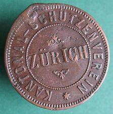 Old Rare Switzerland token - Zurich - Schutzenverein - 35307.1 - mehr am ebay.pl