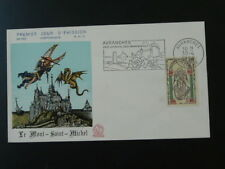 legend of St Michel and the dragon FDC