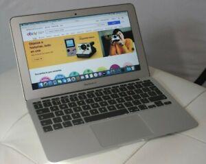 """ORDENADOR Apple Macbook Air 2012 11.6"""" 256GB SSD MACOS CATALINA LEER"""