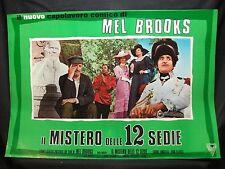 FOTOBUSTA CINEMA - IL MISTERO DELLE 12 SEDIE - MEL BROOKS - 1970 - COMMEDIA - 04