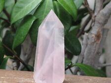 Polished Rose Quartz Crystal Generator - Omni New Age
