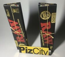 *2 FOR £2.49* Black RAW Extra Fine Kingsize Rolling Papers x2 - EU Official