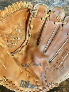 Vintage Wilson Kirby Puckett 2971 Leather Baseball Glove Youth Right Thrower