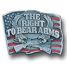 Right to Bare Arms Lapel Pin with Backing (NEW) Button Broach 2nd Amendment