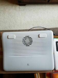 Logitech Cooling Pad N120 USB Power - Quiet Fan - Low Power Consumption - Laptop