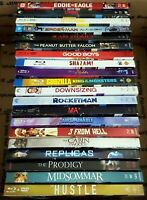 Lot of 20 BluRay Discs All with Slipcovers No DVDs No Digital Great For Resale $