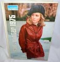 Montgomery Wards 1975 Fall and Winter Catalog Hard Cover Store Issue